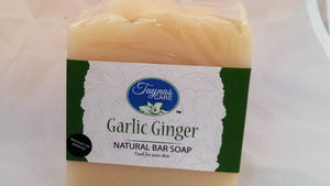 Ginger Garlic Jamaican All Natural Bar Soap