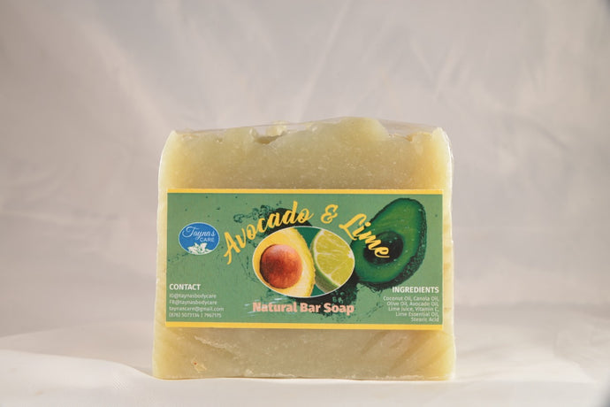 Avocado & Lime Natural Bar Soap