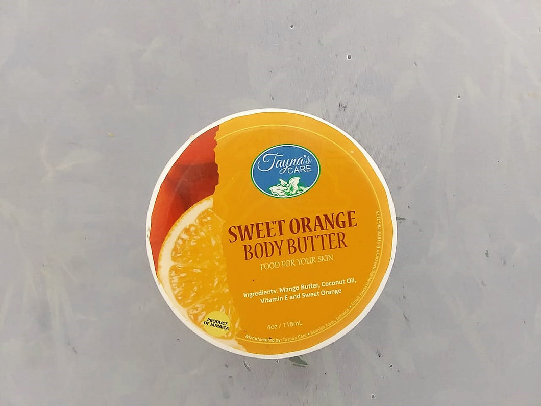 Jamaican Sweet Orange Body Butter