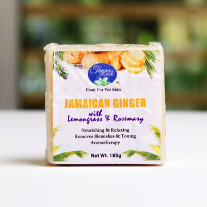 Ginger Lemongrass All Natural Jamaican Bar Soap