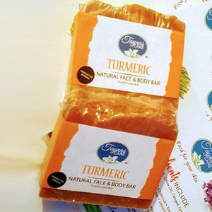 Sweet Jamaica Turmeric Natural Bar Soap