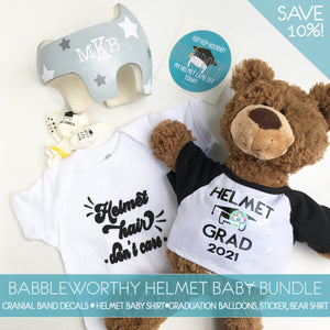 Cranial Band Helmet Baby Must-Have Bundle