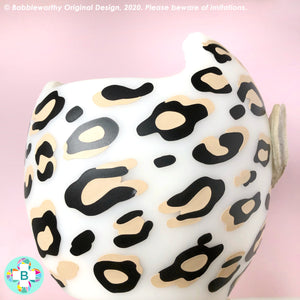 Cranial Band Decals for Starband and Docband, Animal Leopard Print