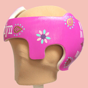 Yoga Inspired Namaste Baby Girl Helmet Cranial Band Decals