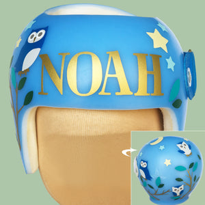 babbleworthy, decorate cranial band, baby helmet decoration, cranial band decals, cranial band design, baby boy starband, cranial band wrap vs cranial band decals, how to decorate your baby helmet