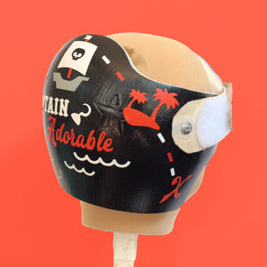 Ahoy Matey! Pirate Themed Cranial Band Decals
