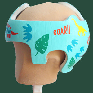 Dinosaur Prehistoric Animal Baby Boy Helmet Decals for Cranial Band