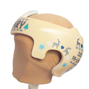 Cranial Band Decals for Starband Doc Band Baby Helmet, Christmas Holiday Theme,  Cranial Band Decal design, Baby Helmet Stickers