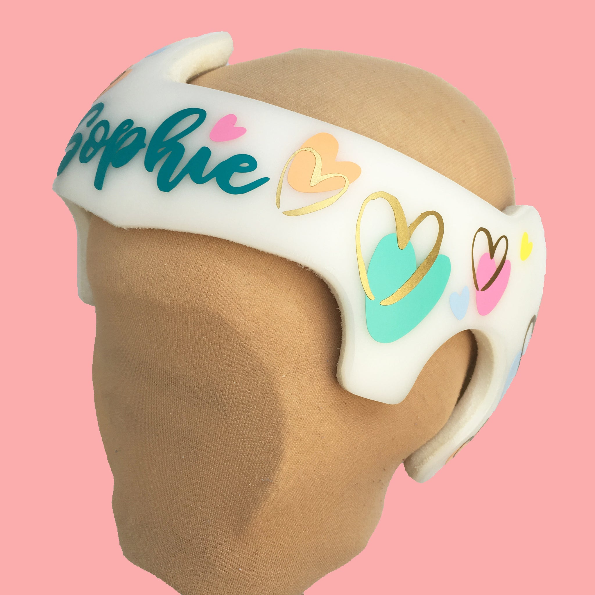 Working on my curves girl Docband Cranial Band Decal Design Stickers for Baby Helmet cranial helmet decal Plagiocephaly Star Band Stickers