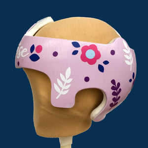 Baby Girl Helmet Cranial Band Decals- Spring Floral Modern Baby Helmet Decorative Stickers