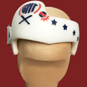 Cranial Band Decals Stickers, Helmet Decal Decorations Baby Boy Baseball Theme