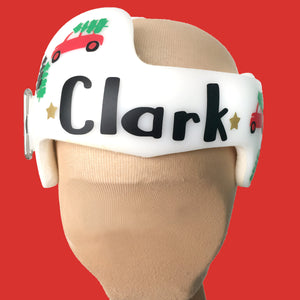 Christmas Holiday Baby Helmet Cranial Band Decal Stickers for Starband docband plagio cranio helmets