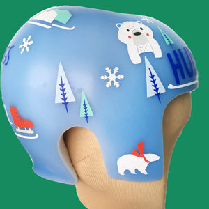 Winter Holiday Cranial Band Decal Stickers for Starband or Other Plagiocephaly or Cranio Helmet