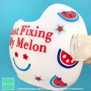 Patriotic Just Fixing My Melon Decals for Starband Docband