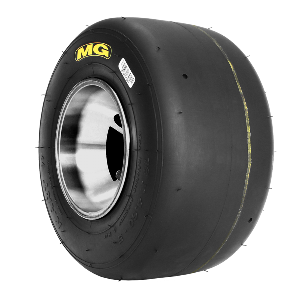 Tyre MG FZ Prime - Yellow 4.6 Front  Inc AKA Royalty
