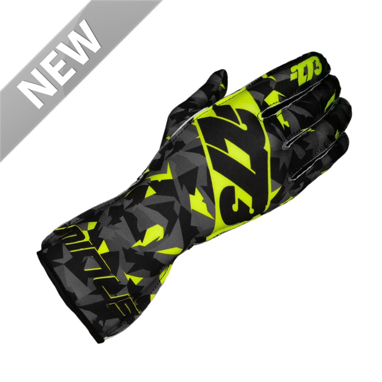 -273 Camo Glove Black/Fluo Yellow - XXS