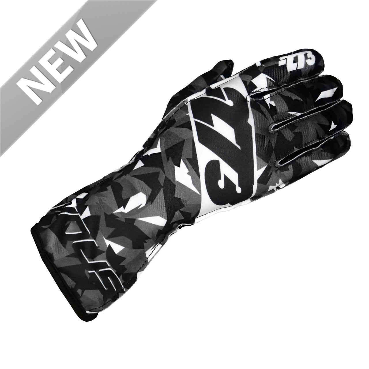 -273 Camo Glove Black/White - XXXS