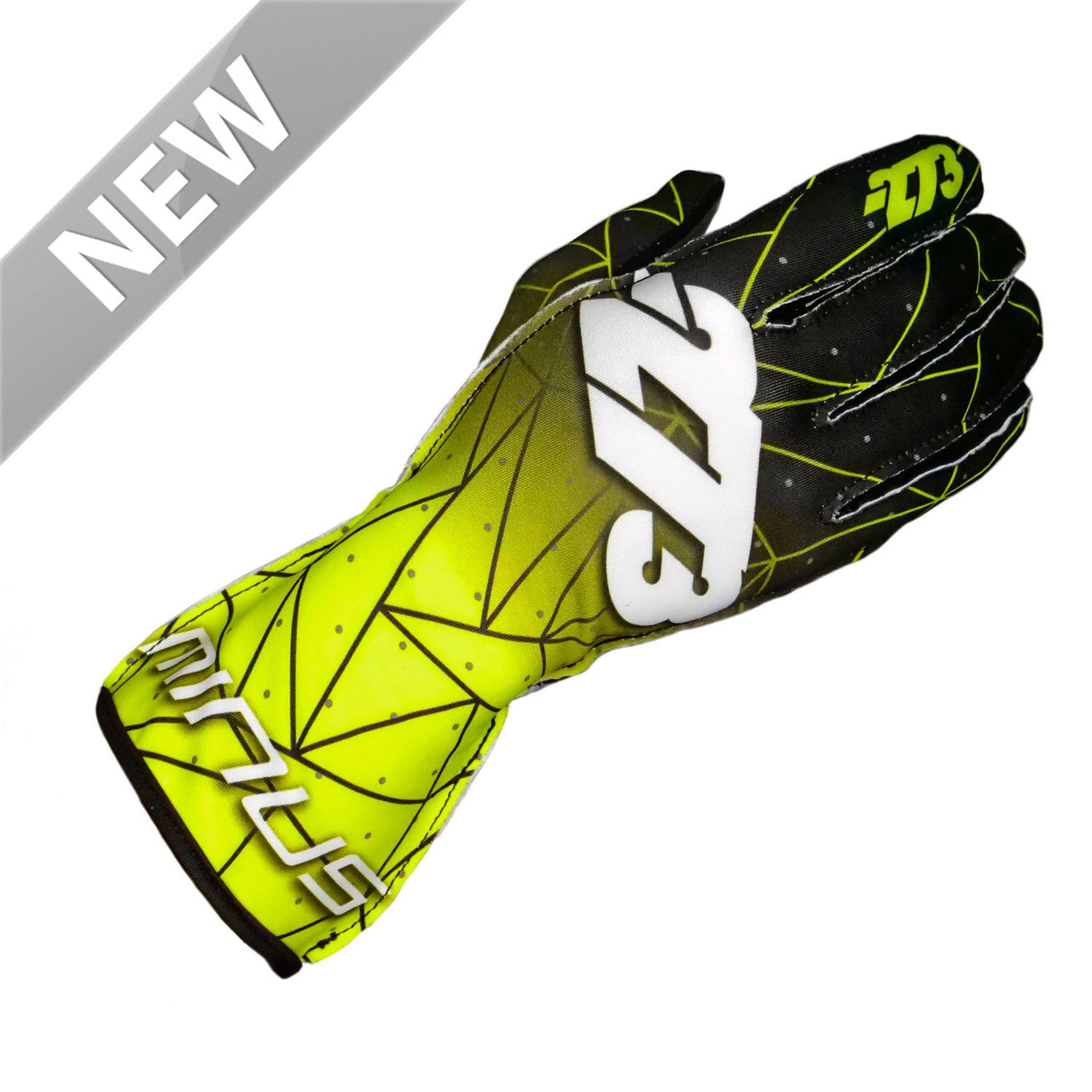 -273 Poly EVO Fluo Yellow/Black - LARGE