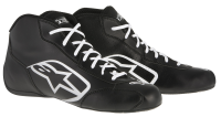 A/STARS -TECH 1-K START BOOTS-BLACK/WHITE-35