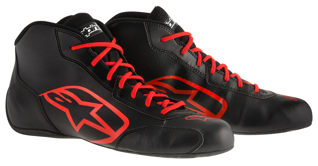 A/STARS -TECH 1-K START BOOTS-BLACK/RED-45