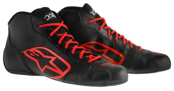 A/STARS -TECH 1-K START BOOTS-BLACK/RED-34