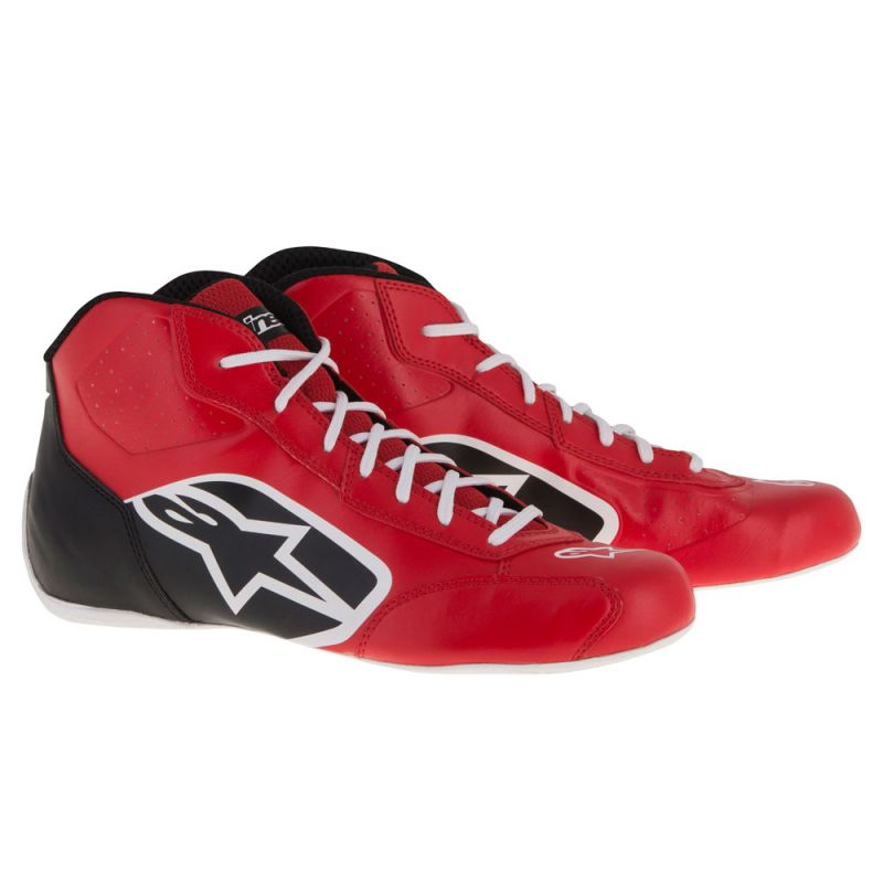 A/STARS -TECH 1-K START BOOTS-RED/BLACK/WHITE-42
