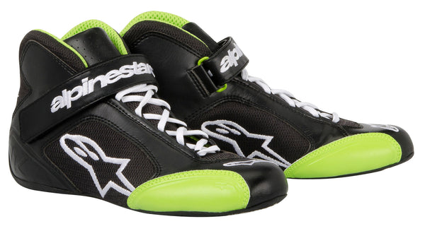 A/STARS -TECH 1-K BOOTS-BLACK/GREEN-45.5