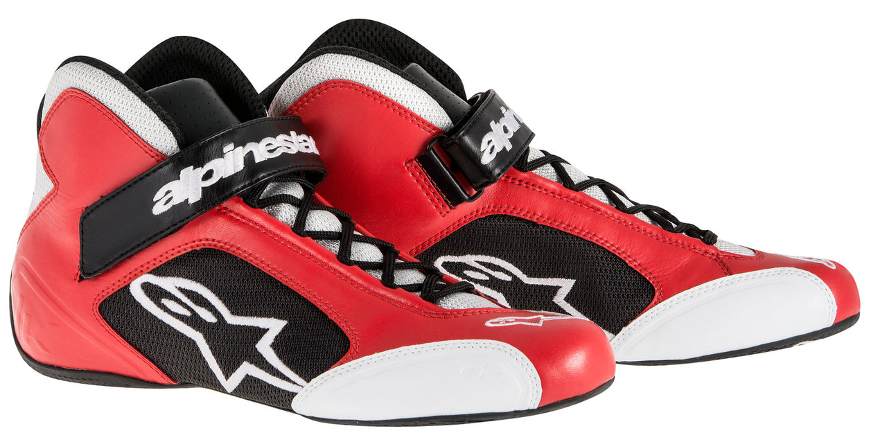 A/STARS -TECH 1-K BOOTS-RED/SILVER-45
