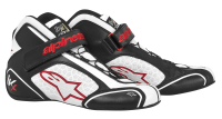 A/STARS -TECH 1-KX BOOTS-BLACK/WHITE/RED-45