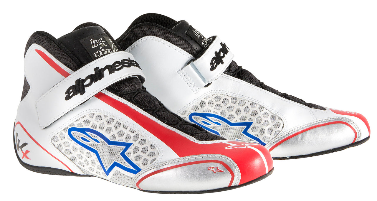 A/STARS -TECH 1-KX BOOTS-WHITE/RED/BLUE-42