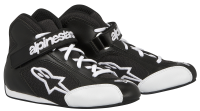 A/STARS -TECH 1-K S. YOUTH BOOTS-BLACK/WHITE-  30