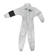 A/STARS -KART RAIN SUIT-CLEAR-XL
