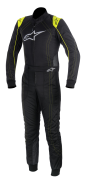 A/STARS -KMX-9 SUIT-BLACK/FLURO YELLOW- 54