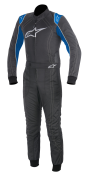 A/STARS -KMX-9 SUIT-ANTHRACITE/BLUE/WHITE- 52