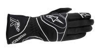 A/STARS -TECH 1-K GLOVES-BLACK/WHITE- M