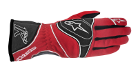 A/STARS -TECH 1-K GLOVES-BLACK/FLURO YELLOW- L