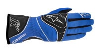A/STARS -TECH 1-K GLOVES-ANTHRACITE/BLUE/WHITE- L
