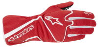 A/STARS -Youth TECH 1-K RACE S. GLOVES-RED/WHITE-M