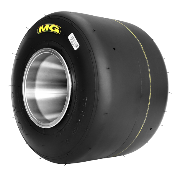 Tyre MG FZ Prime - Yellow 7.1 Rear  Inc AKA Royalty