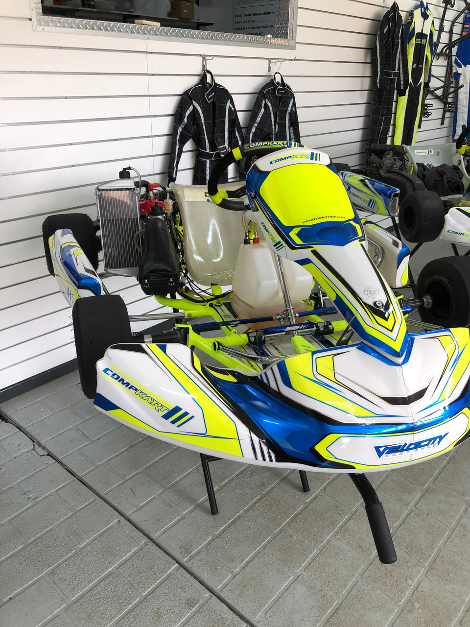 Used - Compkart Covert R w/Rotax Max Package