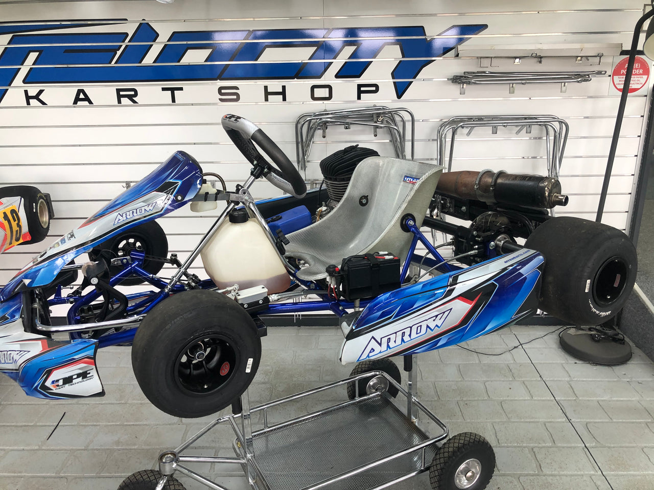 Used Arrow X4 Junior w/ Iame KA100