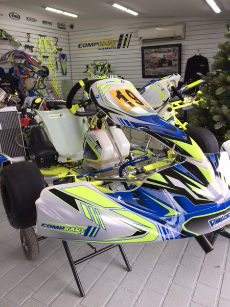 2017 Compkart 17R with Rotax Max EVO - SOLD
