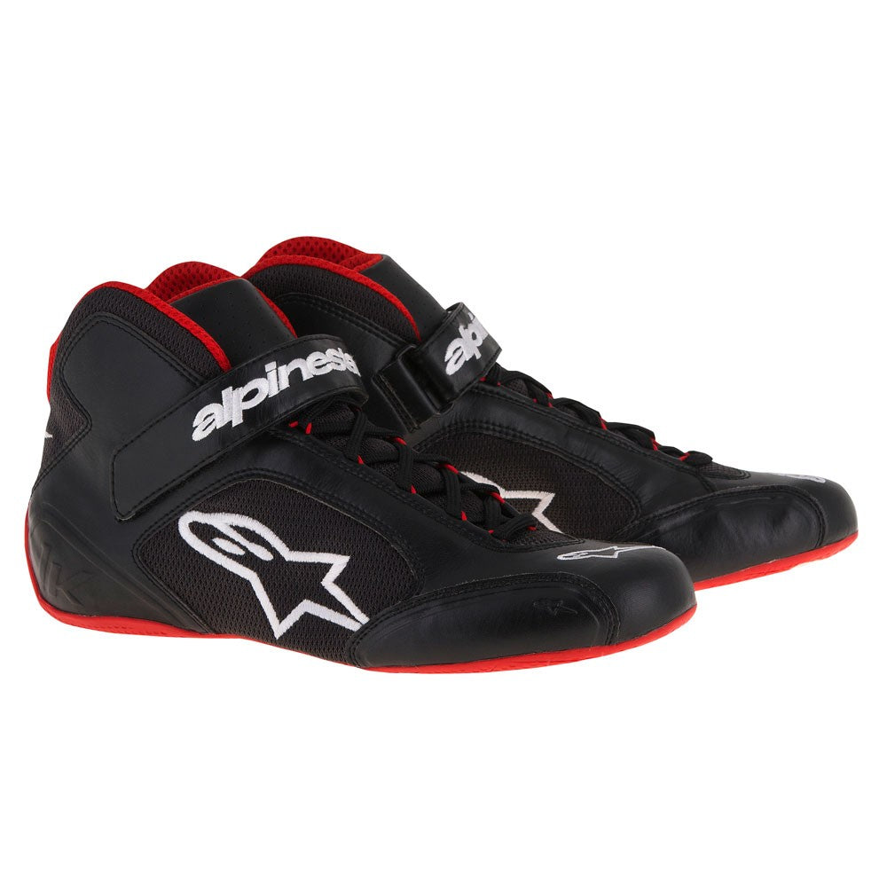 A/STARS -TECH 1-K BOOTS-BLACK/WHITE/RED-45