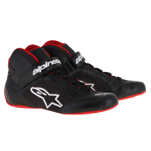A/STARS -TECH 1-K BOOTS-BLACK/WHITE/RED-46