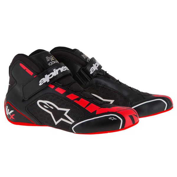 A/STARS -TECH 1-KX BOOTS-BLACK/RED/WHITE-45