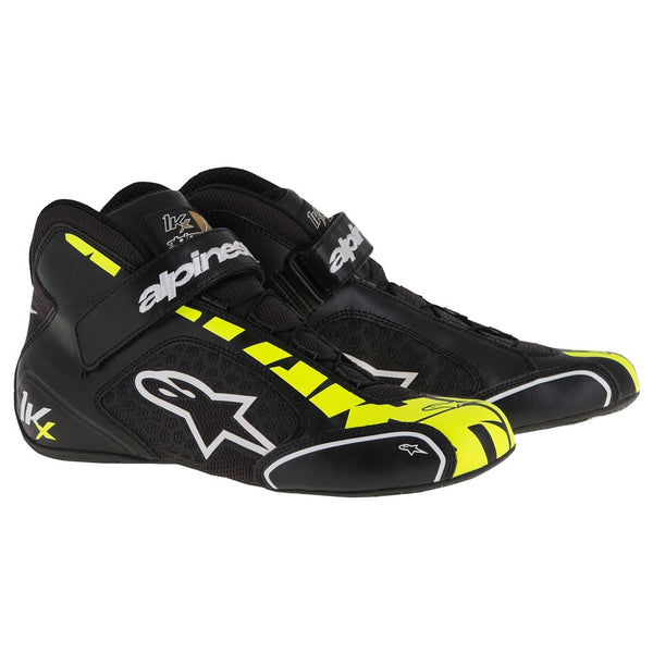 A/STARS -TECH 1-KX BOOTS-BLACK/WHITE/YELLOW-45