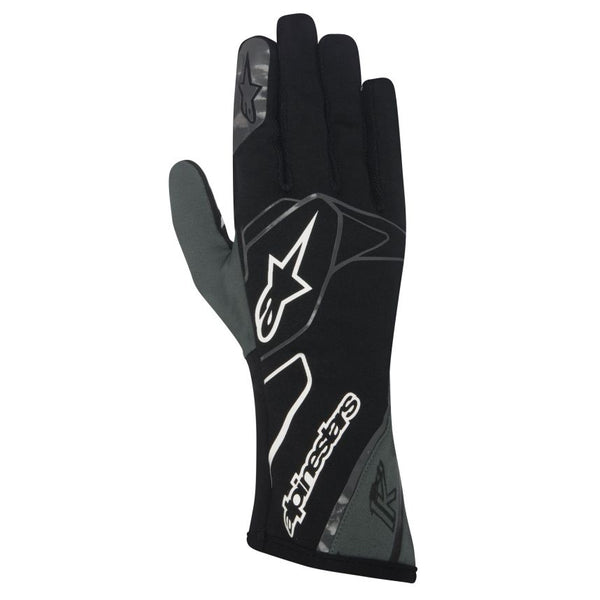 A/STARS -TECH 1-K GLOVES-BLACK/ANTHRACITE/WHITE- L