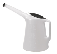 5 Litre Measuring Jug - Flex Handle & Lid