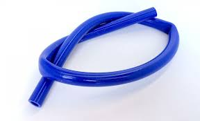 SILICONE PIPE - LENGTH 1200mm - BLUE COLOUR
