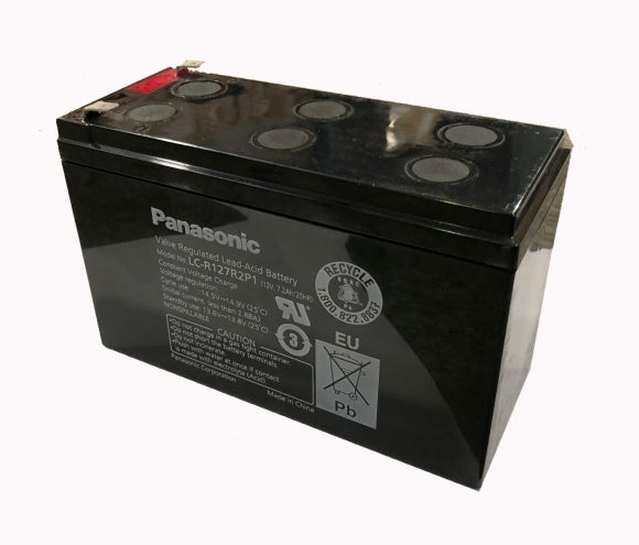 BATTERY 12V 7A SPADE TYPE PANASONIC